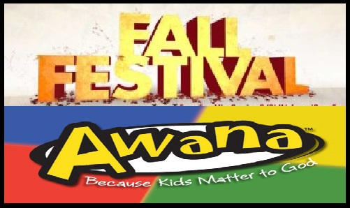POSTPONED UNTIL SEPT 25TH Fall Fest and Awana Kick Off